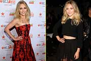 AnnaSophia appearing at the Red Dress Fashion Show