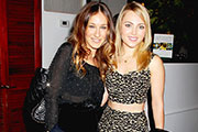 Sarah Jessica Parker and AnnaSophia pose together for the first time!